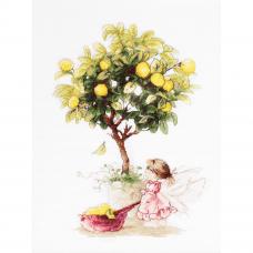 B1111 Набор для вышивания 'Лимоны' 20*29см, Luca-S