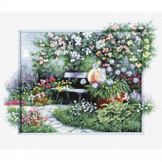BU4012 Набор для вышивания 'Цветущий сад' 44,5*32,5см, Luca-S