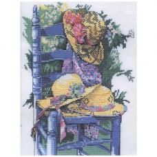 MRMK1973-4822 Набор для вышивания MARGOT 'Голубой стул' 35*50см