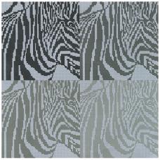 MRMK1983-4637 Набор для вышивания MARGOT 'Зебры' 40*40см