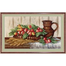 НВ-368 Натюрморт с райскими яблоками