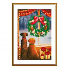 СР2267 Набор для вышивания 'Принимаем подарки'30 x 20 см
