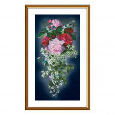СР6235 Набор для вышивания 'Цветочный каскад'29 x 55 см