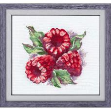 1089 Набор для вышивания ОВЕН 'Ароматная ягода' 15×14см