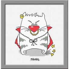 834 Набор для вышивания (Кошачий гороскоп Телец) ОВЕН