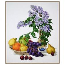 883 Сирень и фрукты