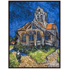 07.019 Набор для вышивания Палитра ' Церковь в Овере'20х27 см
