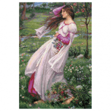 100/055 Ветреницы по мотивам картины Д.У. Уотерхауса