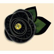 1298АС Набор для вышивания 'Брошь 'Роза' (Риолис)