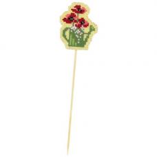 1498АС Набор для вышивания Riolis 'Украшение для цветов 'Леечка', 5,5*6,5 см
