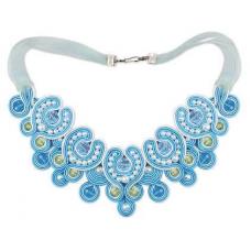 1422АС колье «Голубая лагуна»