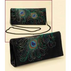 1428АС Набор для вышивания Riolis клатч 'Вечерний', 24*11 см