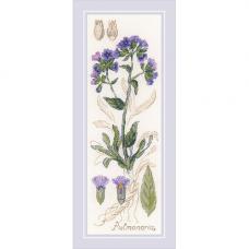 1797 Набор для вышивания Риолис 'Пульмонария'10*30 см