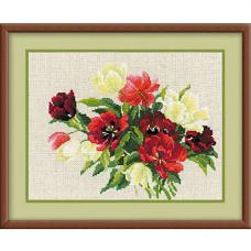 1065 Тюльпаны на льне