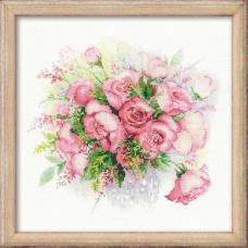 1335 Акварельные розы