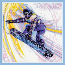 1414 Сноубордист
