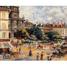 1396 Площадь Троицы. Париж - по мотивам картины Пьера Огюста Ренуара