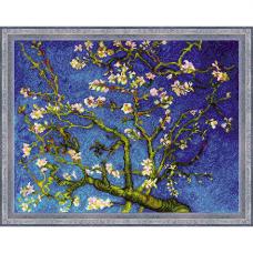 1698 Цветущий миндаль по мотивам картины Ван Гога