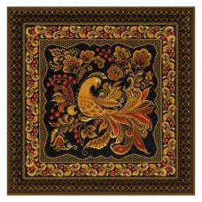 1758 Подушка/панно Хохлома