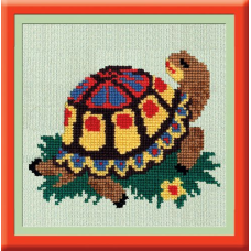 866 Набор для вышивания 'РС-Студия' 'Черепаха', 13*15 см