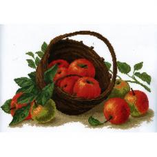 724 Набор для вышивания 'РС-Студия' 'Натюрморт с яблоками', 39*25 см