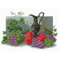 728 Набор для вышивания 'РС-Студия' 'Натюрморт с фруктами', 35*23 см