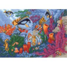 748 Набор для вышивания 23*31см 'Коралловый риф'