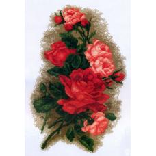 800 Набор для вышивания 'РС-Студия' 'Розы красные', 48*31 см