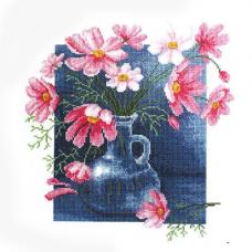 856 Набор для вышивания 'РС-Студия' 'Космеи в кувшине', 51*53 см