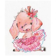 С314 Розовая балерина