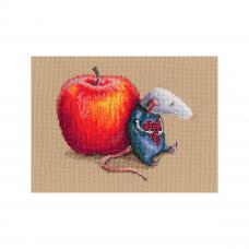 M799 Набор для вышивания РТО 'Влюбился мышь однажды'15,5*13см