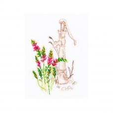 M775 Набор для вышивания РТО 'Цветущие травы'9*15,5см