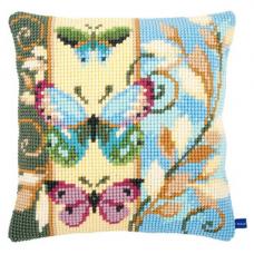 0154716-PN Подушка Vervaco 'Бабочки', 40x40 см