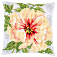 PN-0174419 Подушка Нежный оранжевый цветок