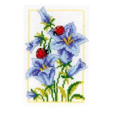PN-0146885 Набор для вышивания Vervaco 'Колокольчики' 8*12см
