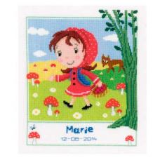 PN-0149425 Набор для вышивания Vervaco 'Красная шапочка' 23*27см