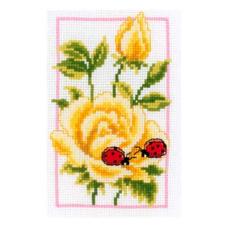 PN-0146887 Набор для вышивания Vervaco 'Жёлтые розы' 8*12см