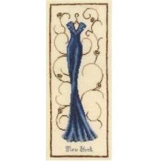 2002-75061 Набор для вышивания Vervaco 'Нью Йорк' 16*37см