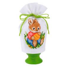 2320-16402 Набор для вышивания чехол для Пасхального яйца Vervaco 9*12см