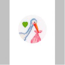 2050-12111 Набор для вышивания открытка и конверт Vervaco 10,5*15см