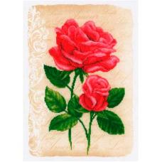 2720-70212 Набор для вышивания Vervaco 'Розы любви '29*41см