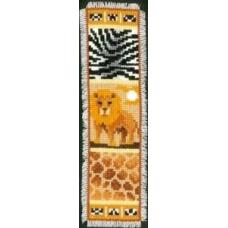 PN-0143909 Набор для вышивания закладка для книг Vervaco 'Сафари' 6*20см