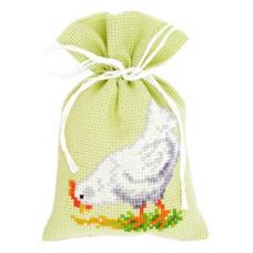 PN-0143919 Набор для вышивания Vervaco саше 'Курица' 8*12см
